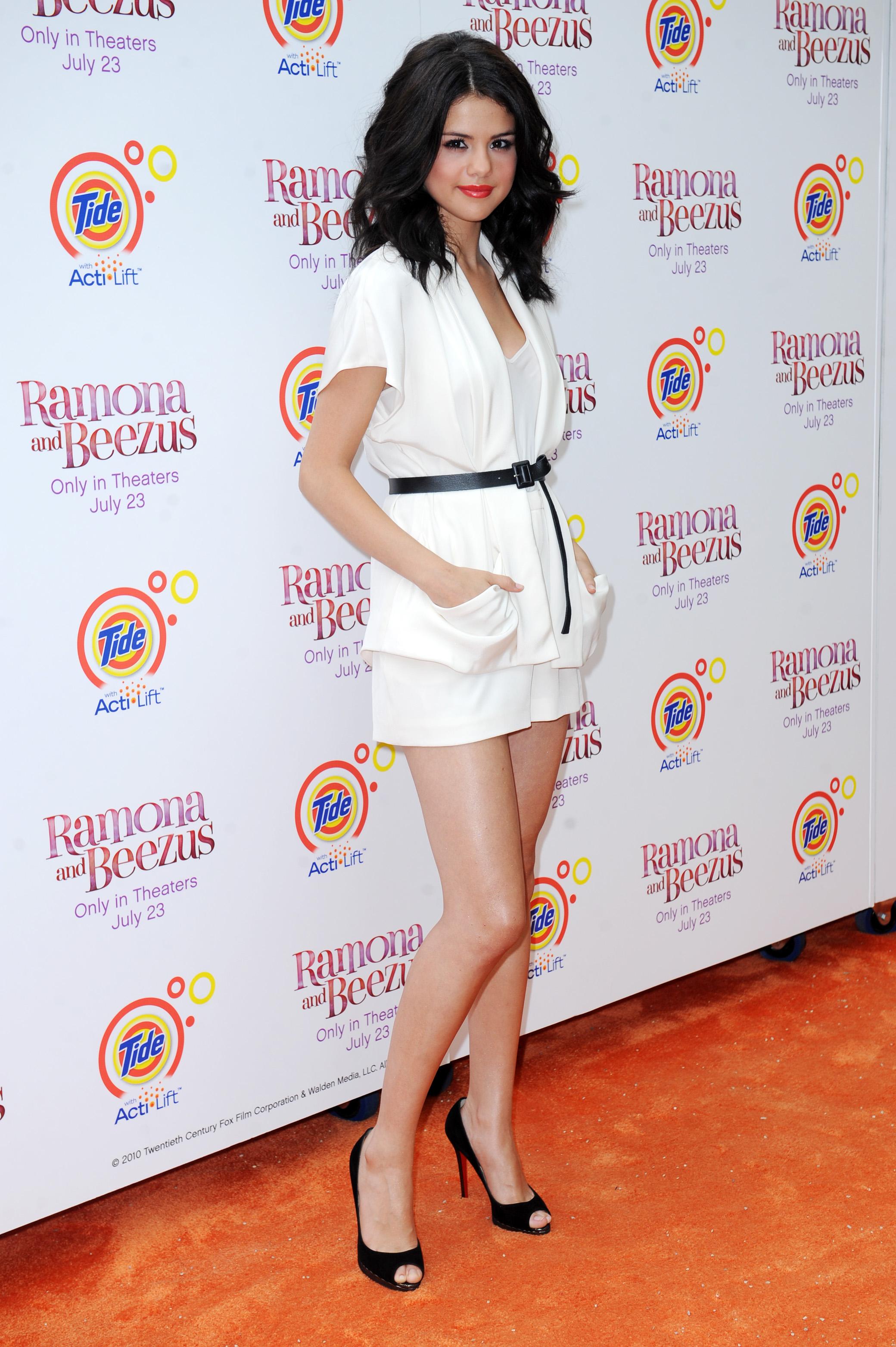 selena gomez ramona and beezus premiere. Tween queen Selena Gomez